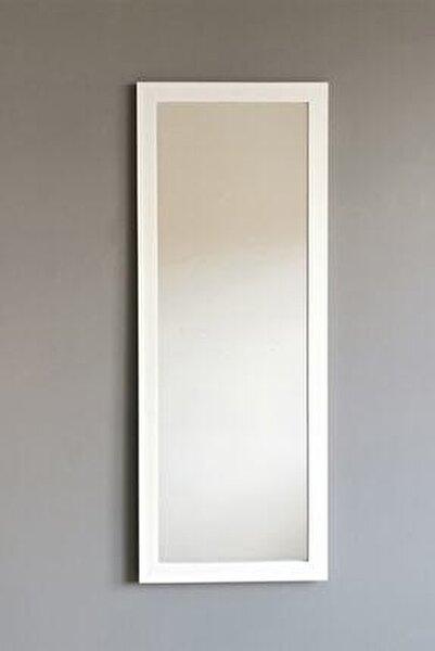 Beyaz Çerçeveli Dekoratif Boy Aynası