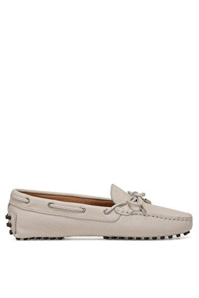 Nine West Holt Kadın Beyaz Loafer Ayakkabı