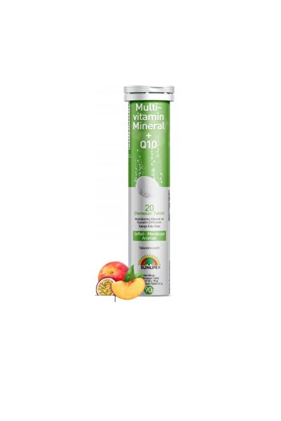 Sunlife Multivitamin, Mineral Ve Koenzim Q10 Içeren 20 Efervesan Tablet
