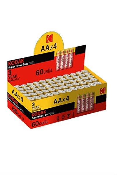 Kodak AA Pil Super Heavy Duty Çinko Karbon Kalem Pil 60 adet