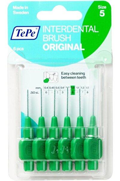 TePe Interdantal Brush Diş Arası Fırçası 0.8 Mm Yeşil Blister 6 Lı