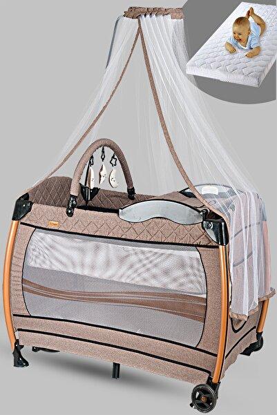 Baby Home 610 Weenle Tüllü 70x110 Bebek Oyun Parkı Yatak Sepet Beşik