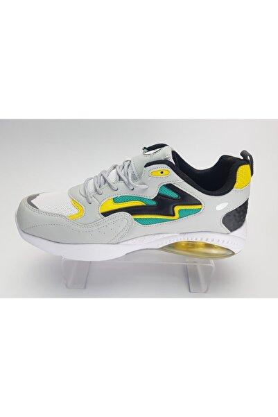 Genesis Erkek Şeffaf Taban Spor Ayakkabı Gri-renkli Renkli