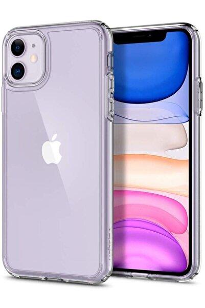 Apple Iphone 11 Kılıf Şeffaf Hibrit Silikon Esnek Tam Koruma