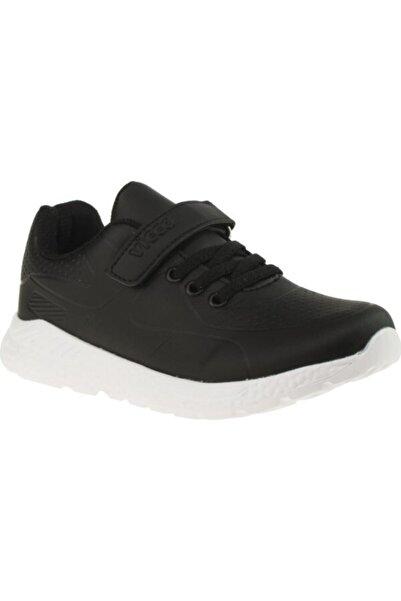 Vicco Filet Ünisex Çocuk Siyah Spor Ayakkabı
