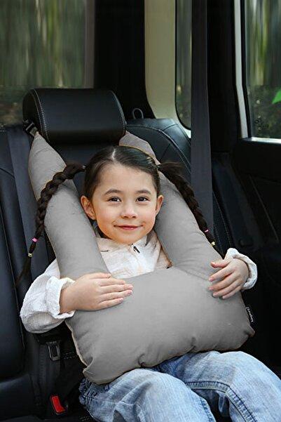 Bundera Pillow Çocuk Emniyet Kemer Yastığı Oto Emniyet Kemeri Gri