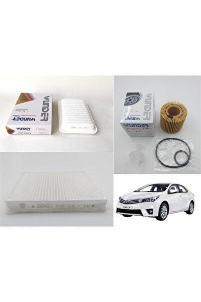 WUNDER Toyota Corolla 1.33 Vvt ( 2008 - 2017 ) Filtre Bakım Seti