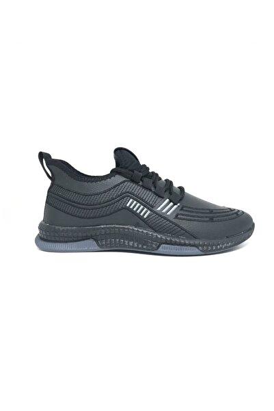 DASKON Erkek Siyah Spor Ayakkabı Ed501