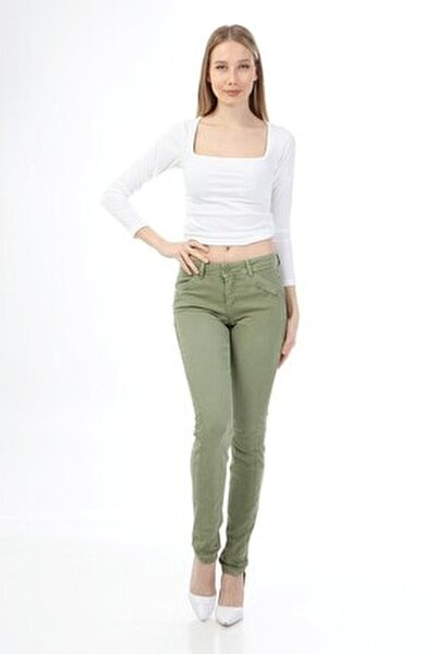 Kadin Parçalı Casual Pantolon