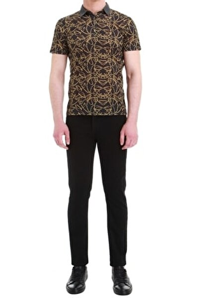 Erkek Siyah Slim Fit Jean Pantolon 034