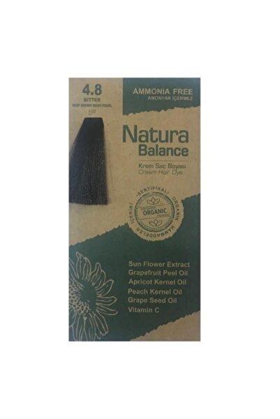 natura Balance Saç Boyası 4.8 Bitter