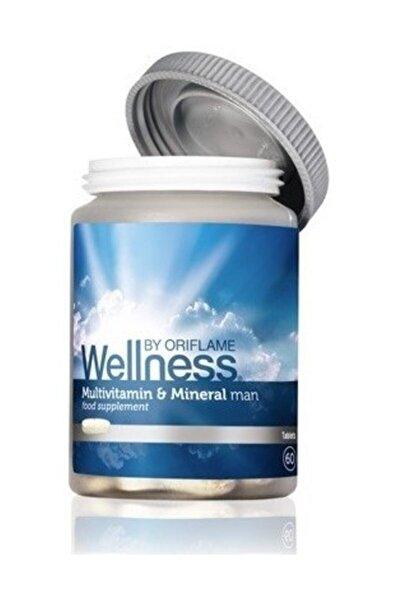 Oriflame Wellness By Erkek Için Multivitamin Ve Mineral Takviye Edici Gıda