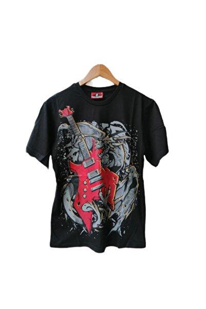 Atlantis Kayrakarakutu Elektro Gitar T-shirt
