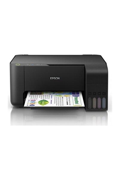 EPSON L3110 Yazıcı-tarayıcı-fotokopi Renkli Mürekkep Tanklı Yazıcı
