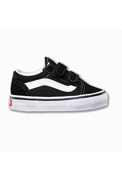 Vans Unisex Çocuk Siyah Sneaker Old Skool V