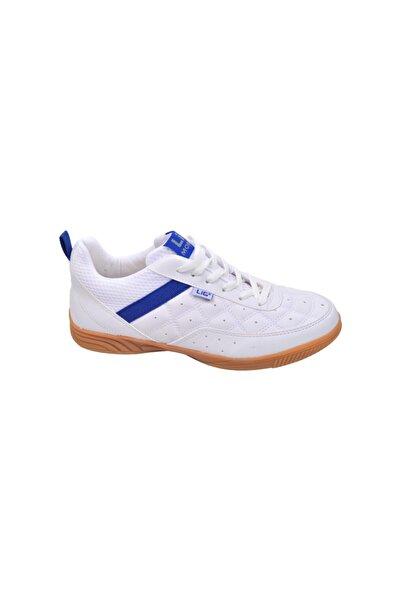 LIG Monaco Indoor 01 Hentbol Voleybol Futsal Erkek Spor Ayakkabı Beyaz