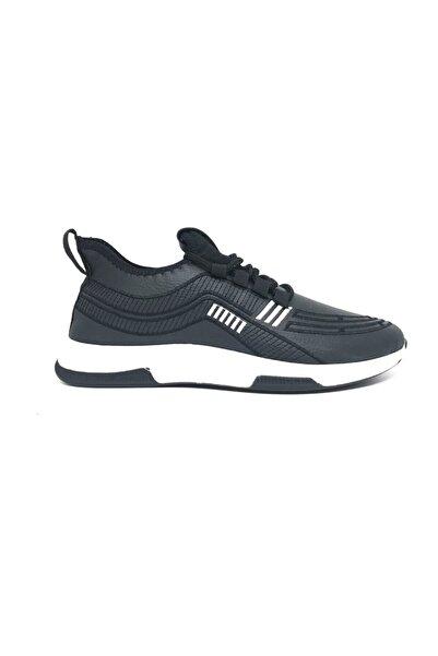 DASKON Erkek Siyah Spor Ayakkabı