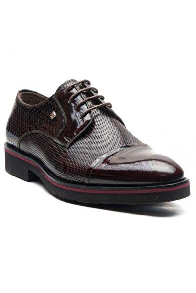 Fosco Erkek Bordo Klasik Ayakkabı 1089
