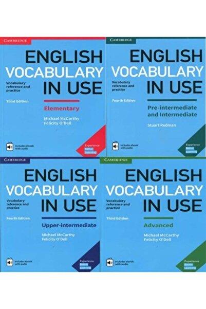 Cambridge University Press English Vocabulary In Use + Cd Full Set 4 Lü Paket