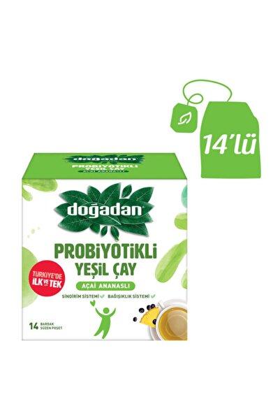 Doğadan Probiyotikli Yeşil Çay Açai Ananaslı 14l'ü