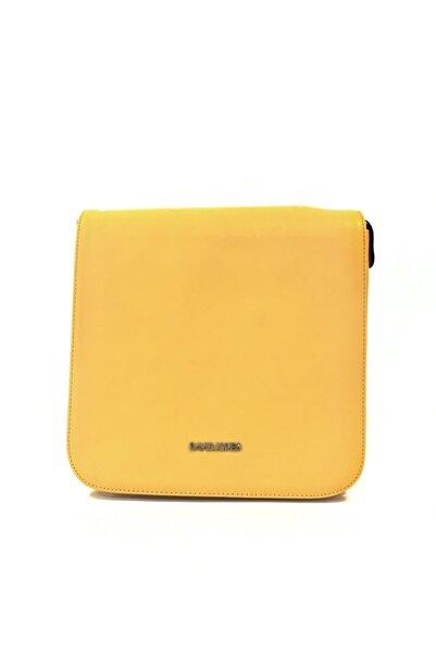 Jacquline Kadın Sarı Çapraz Çanta