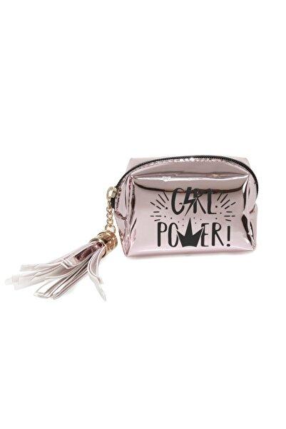 Butigo Aynalı Gırl Power 1fx Pembe Kadın Bozuk Para Cüzdanı