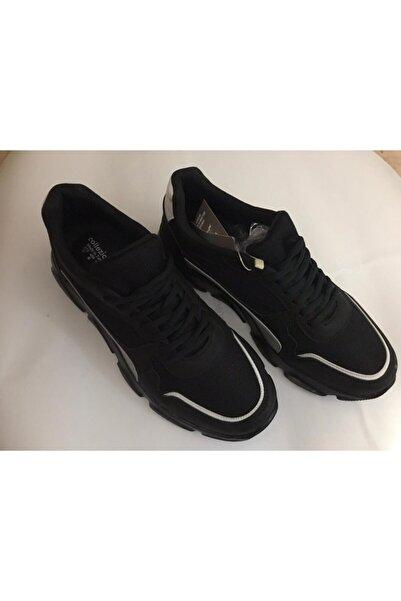 Collezione Erkek Siyah Spor Ayakkabı Uce230526a41