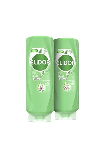 Elidor Sağlıklı Uzayan Saçlar Saç Bakım Kremi 500 ml X2