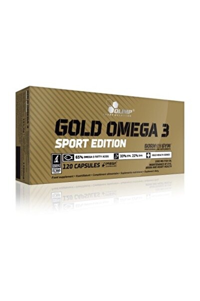 Olimp Gold Omega-3 Sport Edition 120 Kapsül