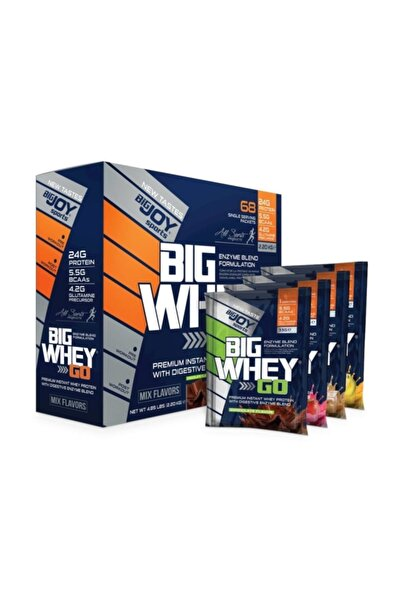Big Joy Big Whey Whey 2244 gr 68 Saşe Mix Flavours+3hediye