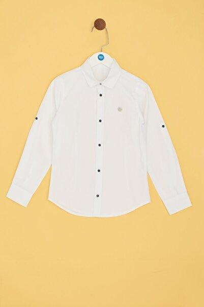 Nebbati Erkek Çocuk Beyaz Gömlek