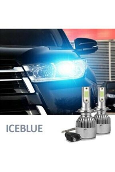 Hunter H7 Led Xenon ( ) Ice Blue (buz Mavi)