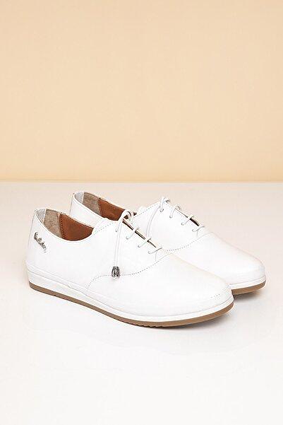 Pierre Cardin Kadın Beyaz Ayakkabı Pc-50073 - 2162-19