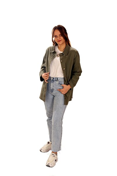 Fame İstanbul Kadın Uzun Kollu Cep Detaylı Ceket