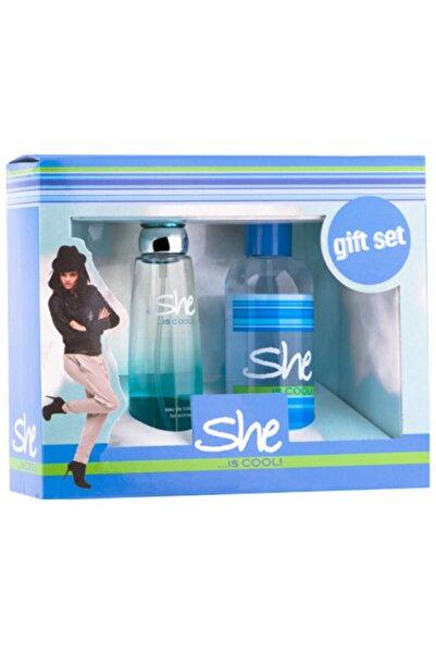 She Cool Set 50 Ml Edt + 150 Ml Body Mist