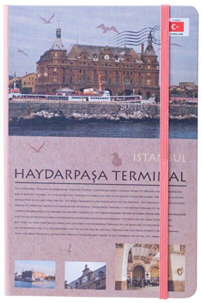 Scrikss Notelook Travel Around Turkey Haydarpaşa A6 Çizgili T000dfttatha6