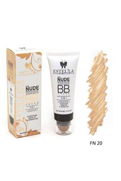 Estella Naturel Fondoten - Doğal Görünüm Nude Super Matte Bb Cream 5in1 - Fn500