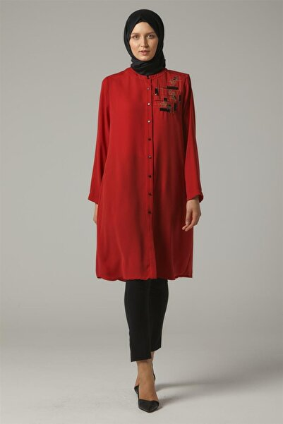 Doque Tunik-kırmızı Do-a9-61158-19