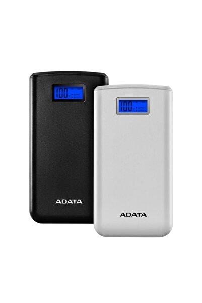 Adata As2000d-dgt-cwh 20000mah 74wh+dc 5v / 2.0a Taşınabilir Şarj Cihazı Powerbank Beyaz