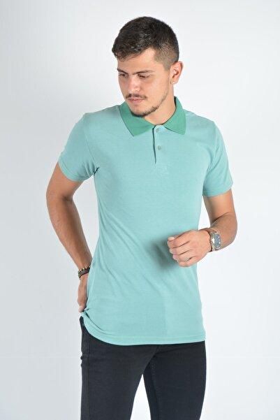 Terapi Men Erkek Polo Yaka T-shirt 20k-3400726 Yeşil