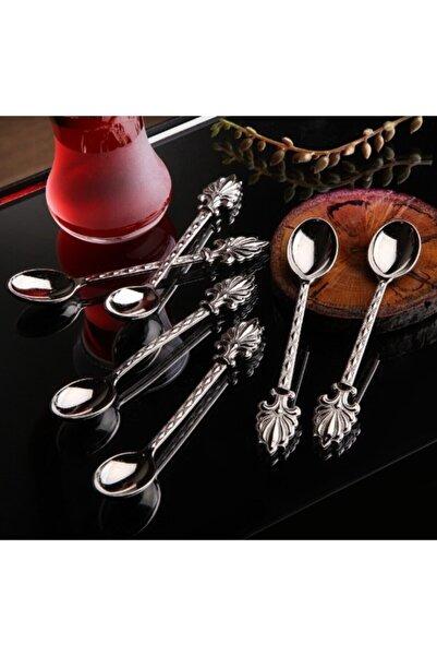 Olcay Home 6 Kişilik Gümüş Çay Kaşığı