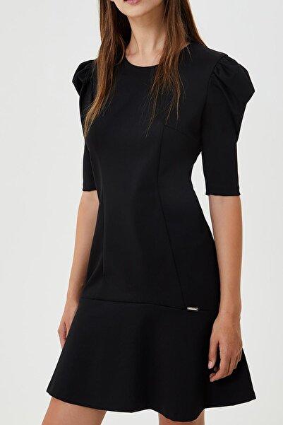 Liu Jo Liu.jo Kısa Kollu Siyah Elbise Siyah