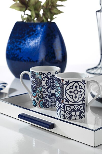 Kütahya Porselen Mug Bardak 9429