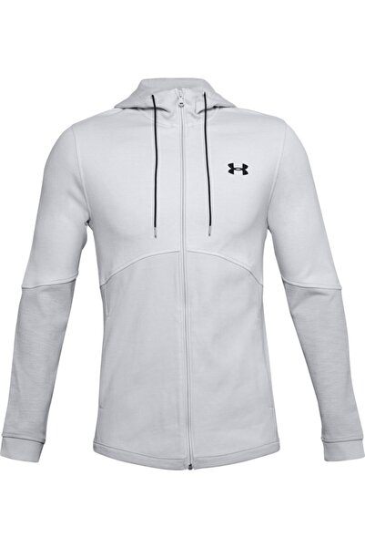 Under Armour Erkek Spor Sweatshirt - Double Knit Fz Hoodie - 1352012-015