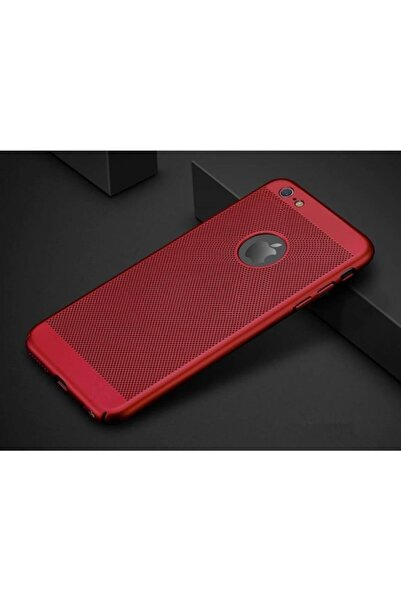 TeknoDuvar Iphone 7 Plus Delikli Mat Sert Dot Kamera Korumalı File Kılıf