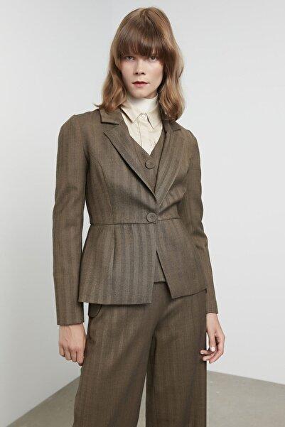 Machka Yün Karışımlı Ceket