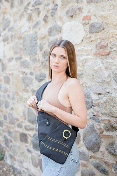Av A Dos Unisex Kumaş Bel Ve Çapraz Askılı Çanta Göğüs Seyahet Günlük Bodybag
