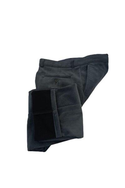 Doratte Moda Kadife Pantolon (Klasik Kesim)ince Fitilli Yüksek Bel Içi Polarlı