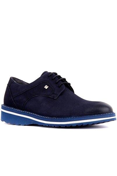 Fosco 8071 Bağcıklı Hakiki Deri Erkek Günlük Ayakkabı 49 Laci Nubuk
