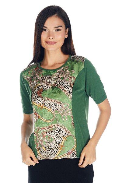 Solo Kadın Triko Japon Stil Pamuk Rayon Lüks Bluz